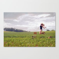 Feel Free... Canvas Print