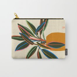 PLANT WITH COLOURFUL LEAVES  Carry-All Pouch