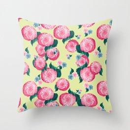 Spring Floral Dream #2 #decor #art #society6 Throw Pillow