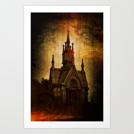 Gothic Sweet Gothic Art Print