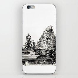 The Matterhorn iPhone Skin
