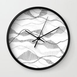 Segmented Flow Wall Clock