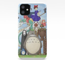 Ghibli mashup iPhone Case