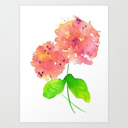 lovely and wild Art Print