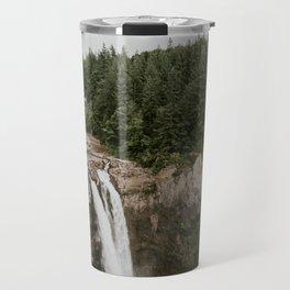 Snoqualmie Falls - Washington Travel Mug