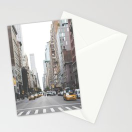 USA Photography - Street In New York City Stationery Cards