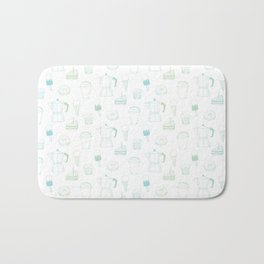 Coffee and Dessert Bath Mat