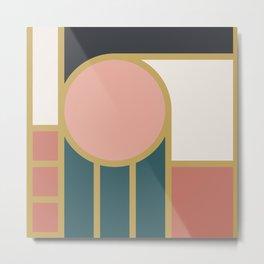 Maximalist Geometric 04 Metal Print