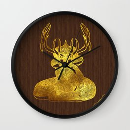 Ilvermorny Horned Serpent Wall Clock