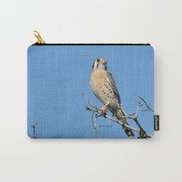 A Kestrel Says Hello Carry-All Pouch