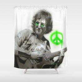 'LennonArtwork' Shower Curtain