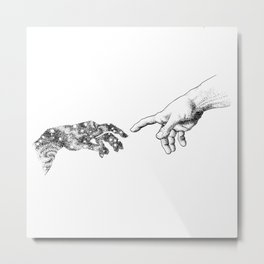 The Creation of Outer Space Metal Print