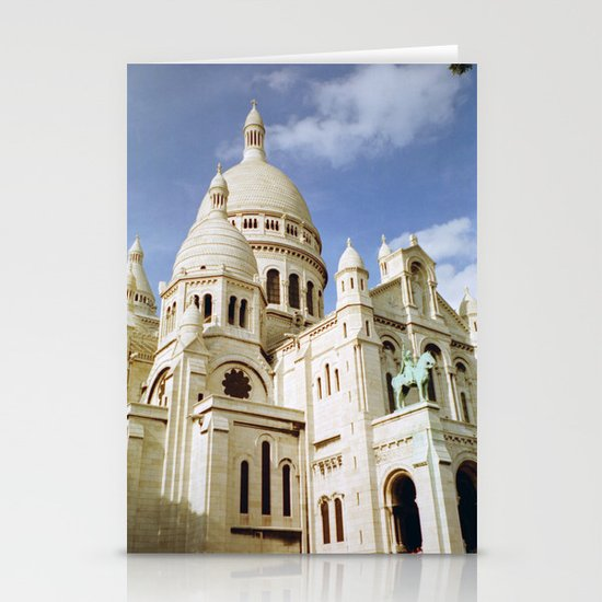 Sacre Coeur, Paris  Stationery Cards