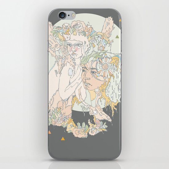 adorned pop iPhone & iPod Skin