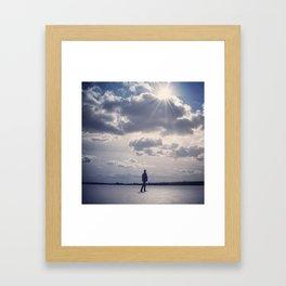 Lake Maratanza Framed Art Print