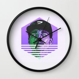 Chance The Rapper Minimal Hipster Wall Clock