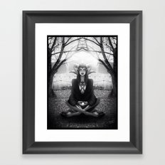 Meditate 2 Framed Art Print