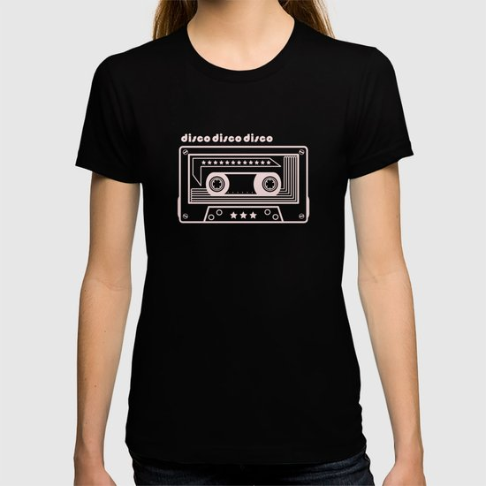 Black and White Disco Music Cassette by marinabh