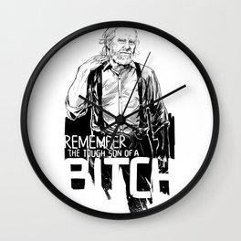 Remember Hershel Greene Wall Clock