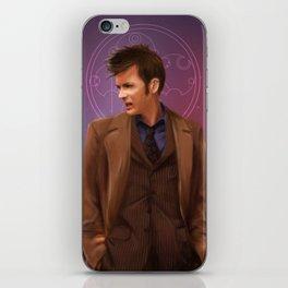 Wibbly Wobbly Timey Wimey - Doctor Who iPhone Skin