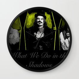 What We Do in the Shadows 6 Wall Clock