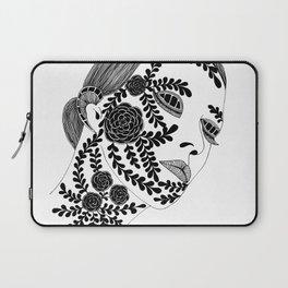 Sensitive Woman Laptop Sleeve