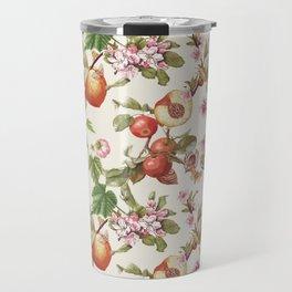 botanical fruits Travel Mug