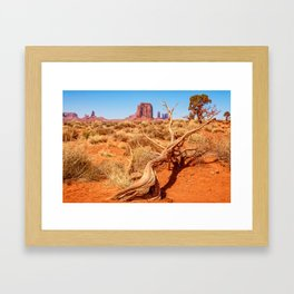That way to Artist Point -Monument Valley Framed Art Print