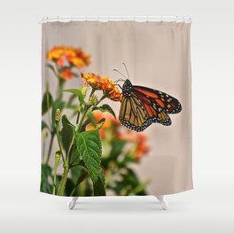 lots of orange Shower Curtain