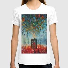 TARDIS ALONE T-shirt