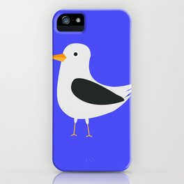 Cute seagull iPhone Case