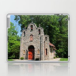 Lourdes University-  Portiuncula  Chapel in the Spring III Laptop & iPad Skin