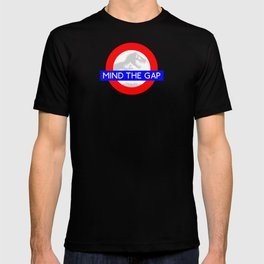 LONDON UNDERGROUND : JURASSIC PARK & MIND THE GAP T-shirt