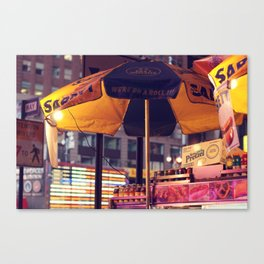 Hot Dogs and Light Bulbs Canvas Print