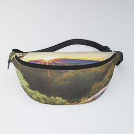 Sage Mountain Sunset Fanny Pack