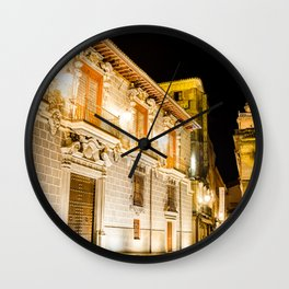 Nocturnal brights Wall Clock