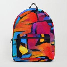 German Shepherd Watercolor Backpack
