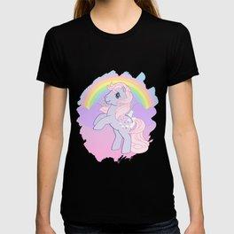 g1 my little pony lickety split T-shirt