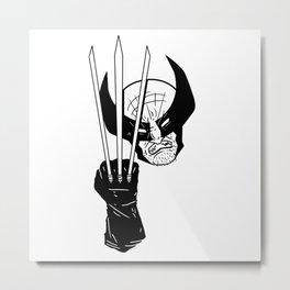 Let's go bub! Metal Print
