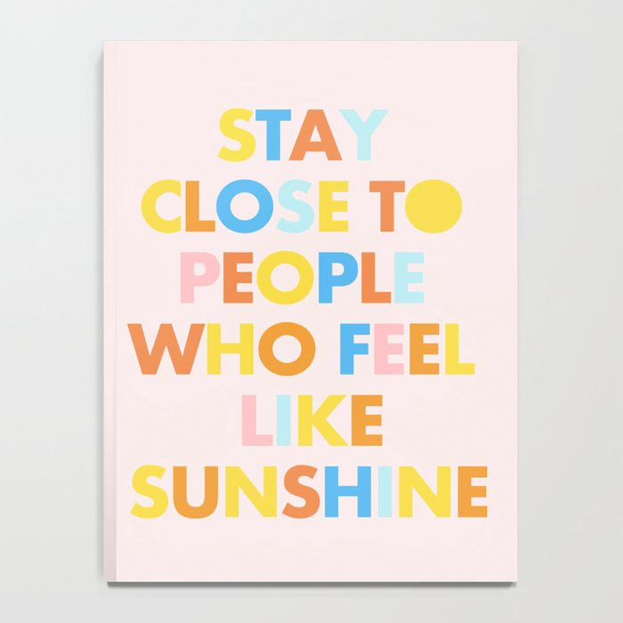 Sunshine People Notebook