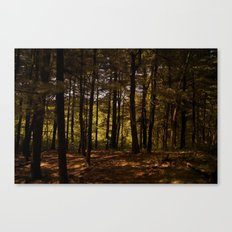 Tree Party Canvas Print