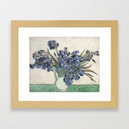 Vincent Van Gogh - Irises 2 Framed Art Print