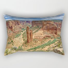 Spider Rock Rectangular Pillow
