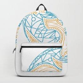 Zen Om Mandala Yoga Meditation Circle Backpack