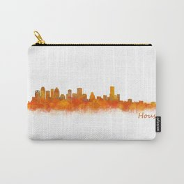 Houston City Skyline Hq v2 Carry-All Pouch