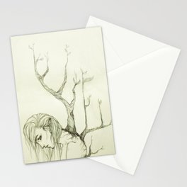 The Burden of Growth Stationery Cards