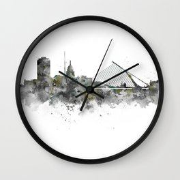 Dublin Skyline Wall Clock