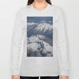 Long White Cloud Scape. Long Sleeve T-shirt
