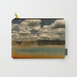 Sunset Lake Under A Cloudy Sky Carry-All Pouch
