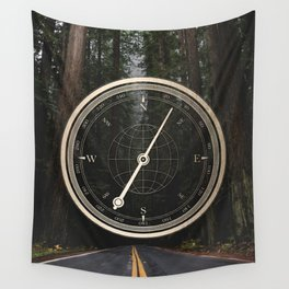 Gold Compass - The Road to Wisdom Wall Tapestry